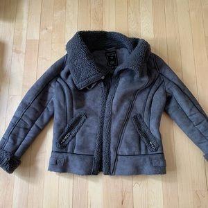 Guess split leather jacket